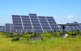 Solarfeld — Stockfoto