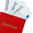 Sparbuch — Stock Photo #6191202