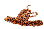 Kaffeebohne — Стоковое фото
