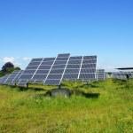 Solarfeld — Stock Photo