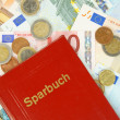 Sparbuch — Stock Photo