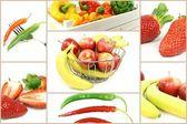 Obst und Gemüse — Stock Photo