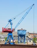Loading crane — Stock Photo