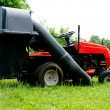 Lawn tractor — Stock Photo #6443948