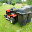Lawn tractor — Stock Photo #6444075