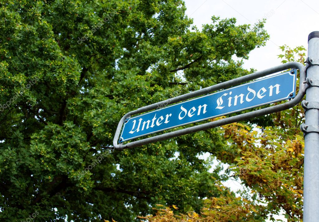 German street sign — Stock Photo #6526174