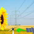Stock Photo: Renewable energy