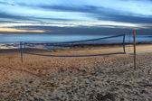Voleyball on the beach — Stock Photo
