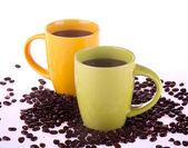Two cup of coffee — Stock Photo