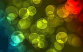 Bock effect background whit circles — Stock Photo