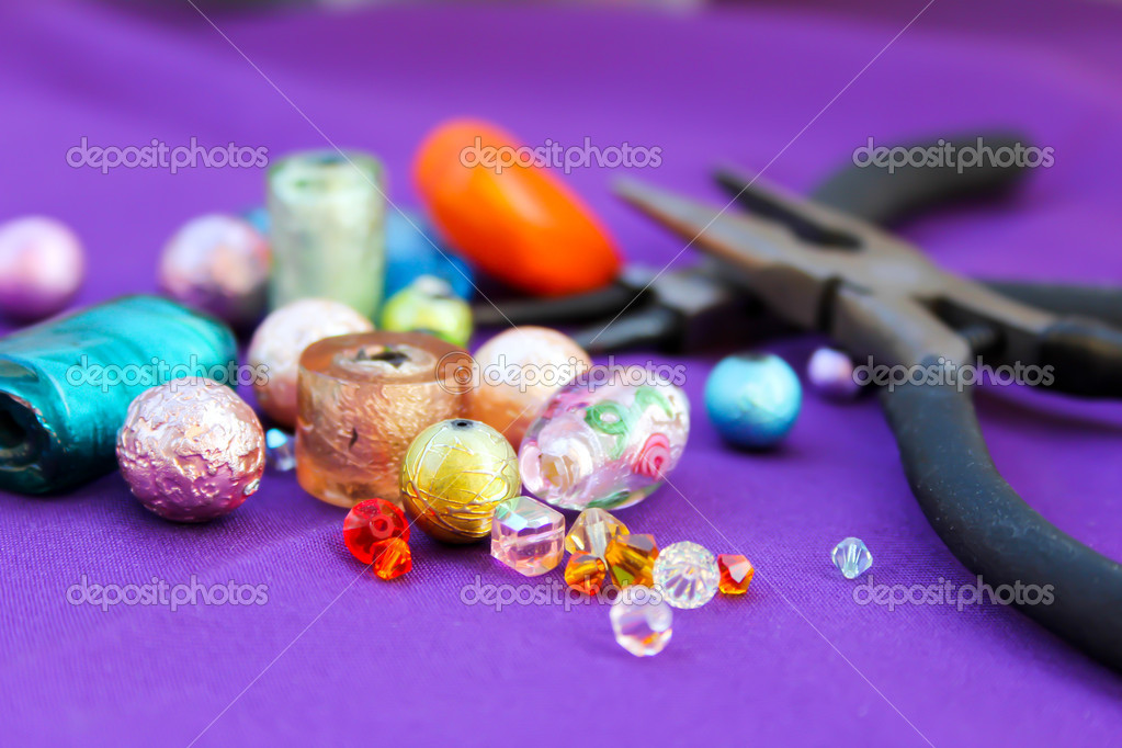 Beads making equipment — Stock Photo #6206966