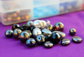 Black Beads — Stock Photo