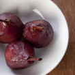 Poached pear - Stock Photo