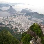 Rio de Janeiro, Christ the Redeemer — Stock Photo