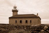 Punta Nati lighthouse — Stock Photo