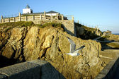 Faro de tapia de casariego — Foto de Stock