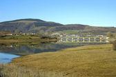 Ebro Reservoir — Stock Photo