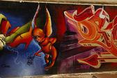 Graffiti art — Stock Photo