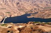 Water dam in Jordan — Stock Photo