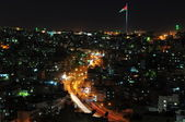 Amman at night — Stock Photo
