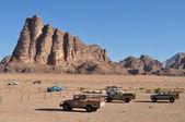 Wadi Rum Reservation — Stock Photo