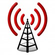 Radio antenna — Stockfoto