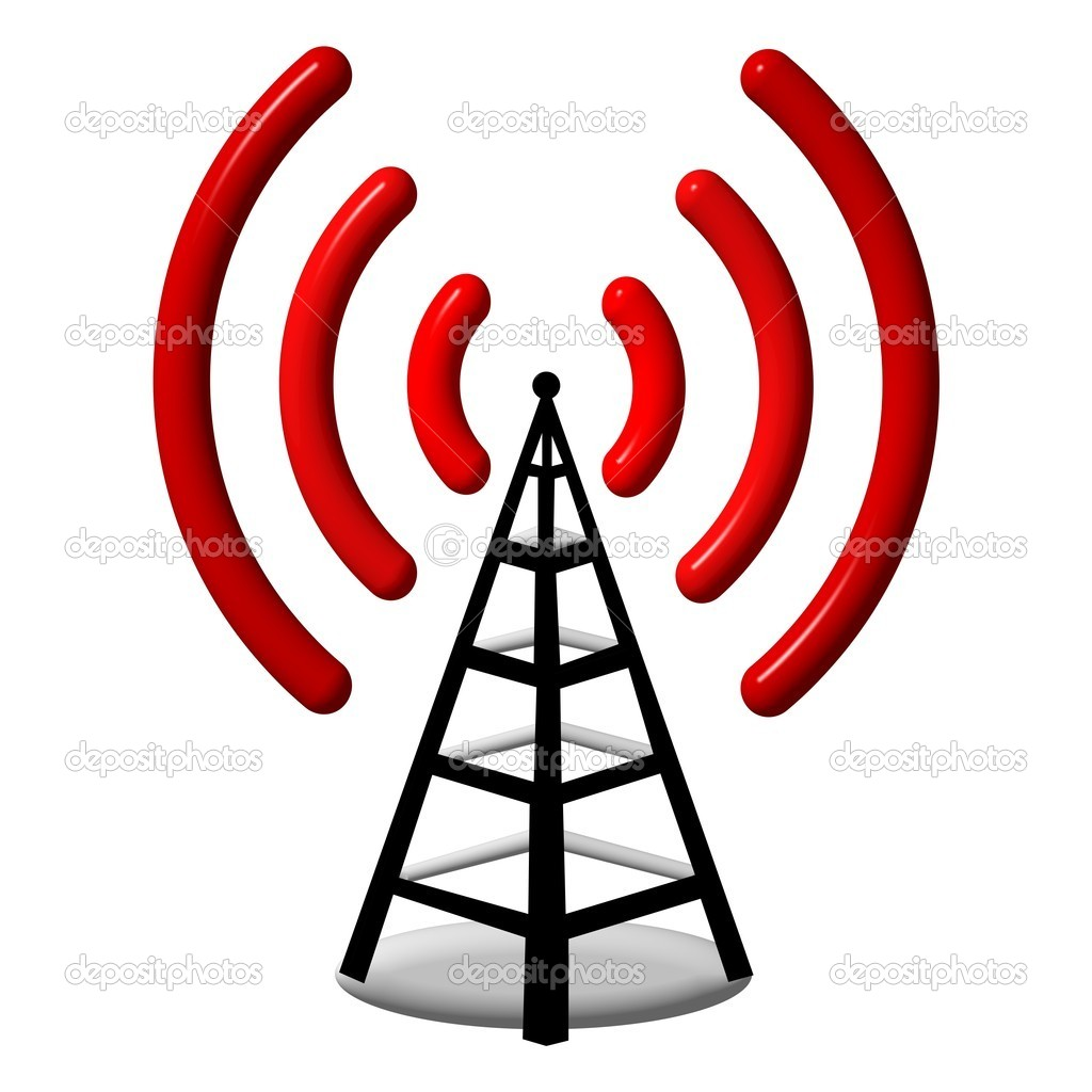 Radio antenna — Stock Photo #6200075