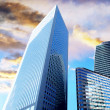 Royalty-Free Stock Photo: Modern office  Skyscrapers on the sunny beautiful sky