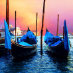 Venezia - reizen romantische plaatsen — Stockfoto