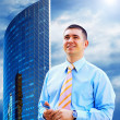 Modern business architecture background — Stock Photo #6354426