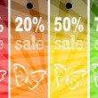 Sale abstract colors background - Stock Photo