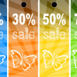 Stock Photo: Sale abstract colors background
