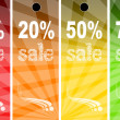 Sale abstract colors background — Stock Photo #6355933