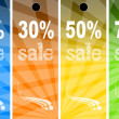 Sale abstract colors background — Stock Photo