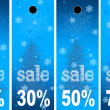 Stock Photo: Sale abstract winter background