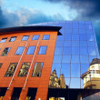 Business buildings architecture on sky background - Zdjęcie stockowe