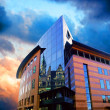 Business buildings architecture on sky background - Lizenzfreies Foto