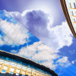 Business buildings architecture on sky background — Stock Photo #6358503