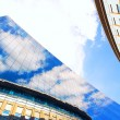 Stock Photo: Business buildings architecture on sky background