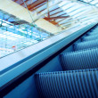 Moving escalator on the railway station — Stock Photo #6359071