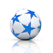 Soccer ball isolated on the white background — Stock Photo