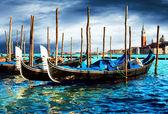 威尼斯-旅行浪漫心意 — 图库照片