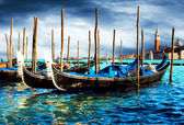 Venezia - resor romantisk försvar — Stockfoto