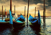 Venecie - travel romantic pleace — Stock Photo