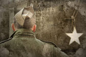солдат армии сша — Стоковое фото