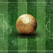 Stockfoto: Grunge football field texture