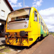Yellow train on outdoor - Foto de Stock