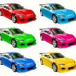 Colorful cars — Stock Photo #6278449
