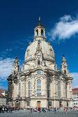 ドレスデンでの聖母大聖堂 — ストック写真
