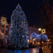Foto Stock: Big Christmas tree